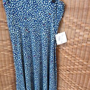 LuLaRoe cotton maxi skirt size XL, NWT
